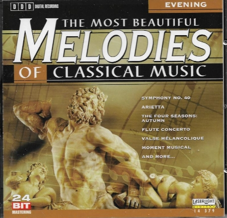 The most beautiful melodies of classical music - Evening [수입]