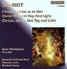 [미개봉] Fritz Naf / 샤이트 : 교회 음악곡 '빛과 날을 주신 예수' (수입/C58002)
