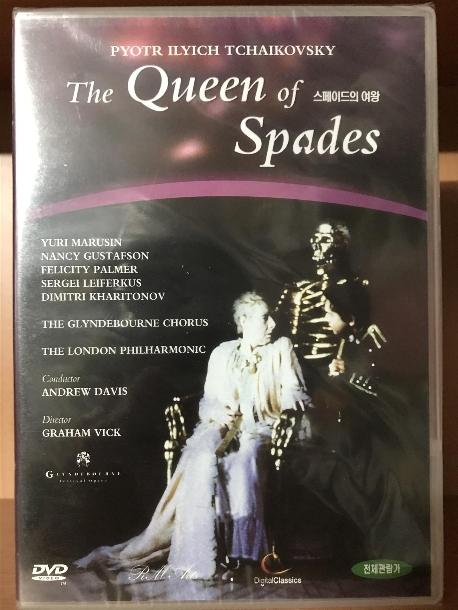 차이코프스키: 스페이드의 여왕 [TCHAIKOVSKY: THE QUEEN OF SPADES/ ANDREW DAVIS] [태원 07년 10월 클래식 할인 행사] 새상품 입니다.