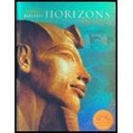 Harcourt School Publishers Horizons: Student Edition World History 2005 (Hardcover, Student)