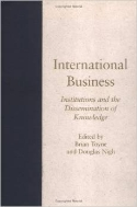 International Business : Institutions and the Dissemination of Knowledge (ISBN : 9781570032561)