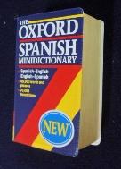 OXFORD SPANISH MINIDICTIONARY [포켓용]/사진의 제품  / ☞ 서고위치:RS 4  *[구매하시면 품절로 표기 됩니다]