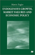 Endogenous Growth, Market Failures and Economic Policy   (ISBN : 9781349271313)