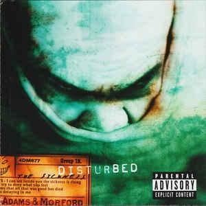 [수입] Disturbed - The Sickness