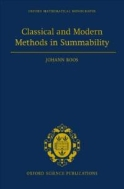 Classical and Modern Methods in Summability (ISBN : 9780198501657)