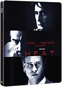 [블루레이] 히트 (Heat) [알 파치노] / (미개봉) [스틸북 한정판]띠지 포함