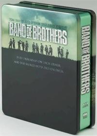 밴드 오브 브라더스 [BAND OF BROTHERS] [13년 2월 워너 HBO 프로모션] [틴케이스 한정판]6disc+북릿/디지팩/틴케이스