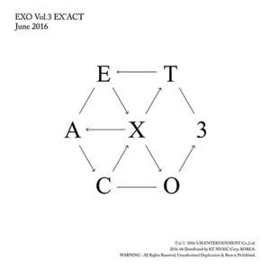 [미개봉] 엑소 (Exo) / 3집 - Ex'act (Chinese Ver.) (Lucky Ver./미개봉)