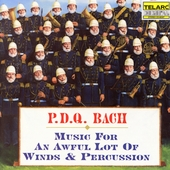 Turtle Mountain Naval Base Tactical Wind Ensemble / P.D.Q. 바흐 : 관악과 타악기의 엄선된 음악 (P.D.Q. Bach : Music for an Awful Lot of Winds & Percussion) (수입/CD80307
