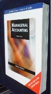 Managerial Accounting 8/E  / 사진의 제품    ☞ 서고위치:SD 3  *[구매하시면 품절로 표기됩니다]