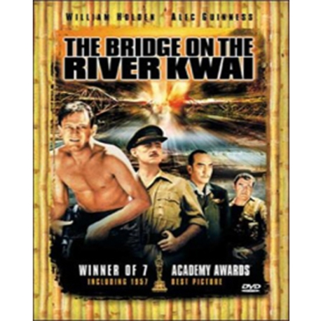 (DVD) 콰이강의 다리 (Bridge On The River Kwai, 1disc)