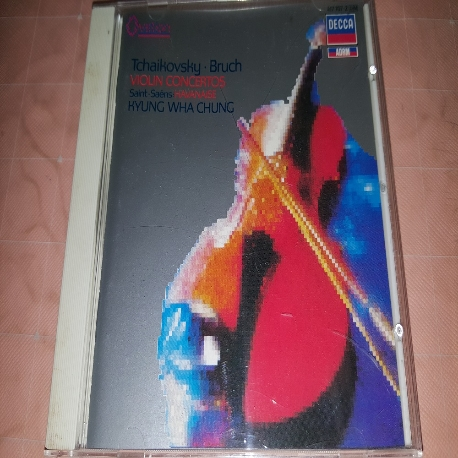 Tchaikovsky, Bruch Violin Concerto (Violin 연주 : 정경화)