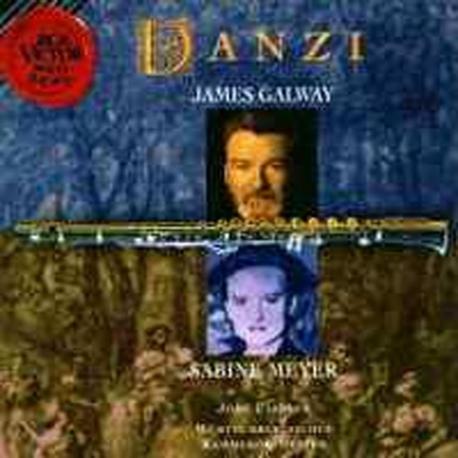 James Galway, Sabine Meyer / 단치 : 플룻 협주곡 2번, 콘체르탄테 (수입/09026619762)