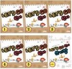 LET'S GO 준4급 한자 1호,2호,3호,4호,5호+쓰기장 (전6권) 세트