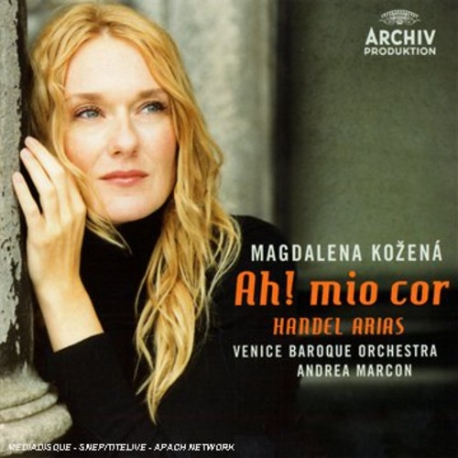 Handel Arias - Ah! Mio Cor [수입] * 헨델 아리아 / Magdalena Kozena