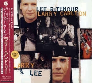 [일본반][Promo] Lee Ritenour / Larry Carlton - Larry & Lee