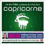 [미개봉 CD] Les Plus Belles musiques de votre signe : Capricorne