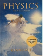 PHYSICS GIANCOLI : Principles with Applications Fifth Revised Edition, Hardcover