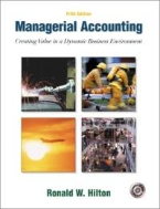 Managerial Accounting 5/E