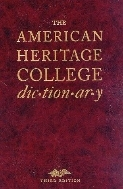 The American Heritage College Dictionary, 4/ed (Includes CD-ROM)  (ISBN : 9780618453009)