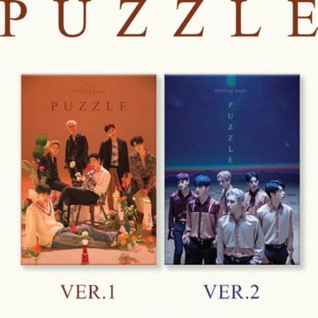 [미개봉] [키트 형태] 인투잇 (In2it) / Puzzle (3rd Single) (키트 앨범) (Ver.1/Ver.2 랜덤 발송)