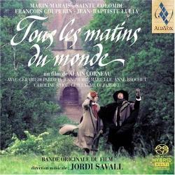 [SACD] Jordi Savall / 세상의 모든 아침 - O.S.T. (Tous Les Matins Du Monde) (SACD Hybrid/Digipack/수입/AVSA9821)