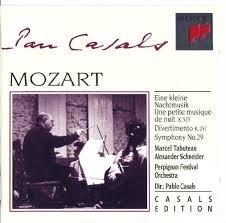 Pablo Casals / Mozart : Symphony N0.29. Divertimento, Eine Kleine Nachtmusik (수입/SMK66569)