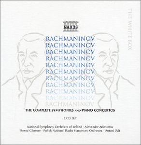 RACHMANINOV : Complete Symphonies and Concertos [5 CD]