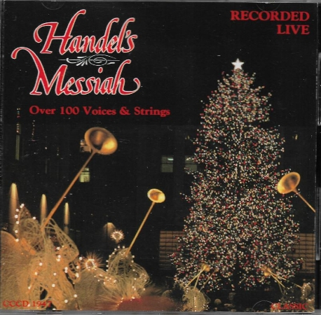 Handel's Messiah (Recorded Live) - Over 100 Voices & Strings [수입] * 헨델 메시아 ( 라이브 녹음 )