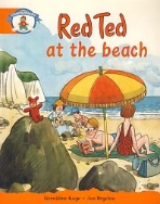 RED TED AT THE BEACH (OUR WORLD)