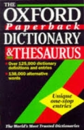 OXFORD COMPACT DICTIONARY & THESAURUS