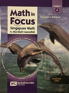 Math in Focus: Singapore Math: Teacher Edition, Volume a Grade 8 2013 #