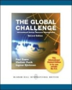 Global challenge :international human resource management /Paul Evans,  2nd ed