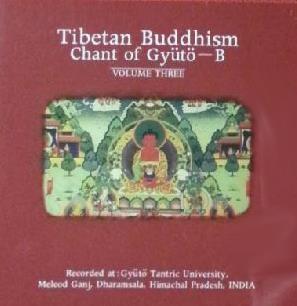 Tibetan Chant (티벳불교예불) 3 - Chant of Gyuto - B  (겔룩파 Gyuto 승려들의 예불) * 다람살라 현장 녹음