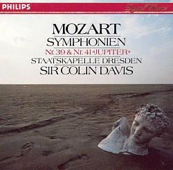 Colin Davis / Mozart : Symphonies Nos. 39 & 41