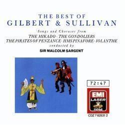 Malcolm Sargent / The Best Of Gilbert & Sullivan (수입/미개봉/cdz7625312)