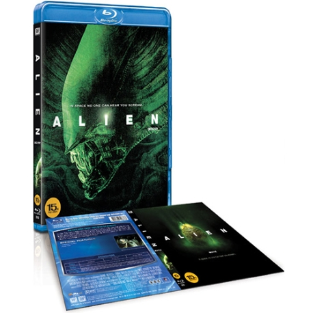 (블루레이) 에이리언 (극장판+감독판) (Alien)