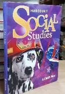 Harcourt Social studies 1 (A Child's View) (2007)  /223 (10페이지메모밑줄있어요)