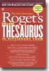 The New American Roget`s College Thesaurus in Dictionary Form