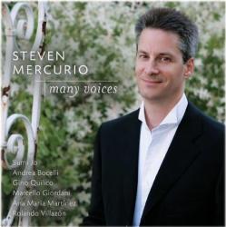 [미개봉] Steven Mercurio / 여러 목소리들 (Many Voices) (SB70100C)