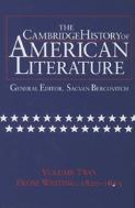 Cambridge History of American Literature, Vol. 2: Prose Writing, 1820-1865