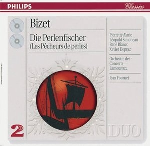 Jean Fournet / Bizet : The Pearl Fishers (수입/미개봉/2CD/4622872)