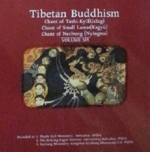 Tibetan Chant (티벳불교예불) 6 - Chant of Tashi-Kyil / Small Lamas / Nechung  * 다람살라 현장 녹음