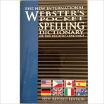 WEBSTER'S POCKET SPELLING DICTIONARY OF THE ENGLISH LANGUAGE