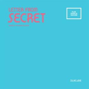 시크릿 (Secret) / Letter From Secret (4th Mini Album/포토카드포함)