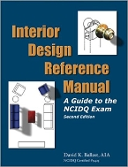 Interior Design Reference Manual : A Guide to the NCIDQ Exam, 2/ed  (ISBN : 9781888577747)