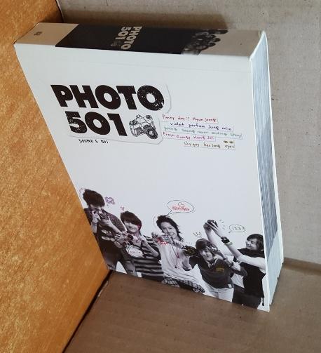 SS501 PHOTO 501 [포토북: 500 페이지 올컬러+DVD] -실사진입니다