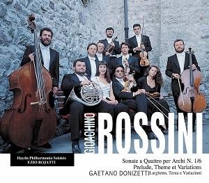 Ezio Rojatti / 로시니: 현악 소나타 1 - 6번 전곡(2CD/GI2038)