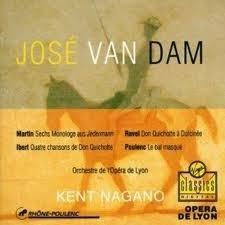 [중고] Jose Van Dam, Kent Nagano / Martin, Ravel, Ibert, Poulenc (수입/077775923629)