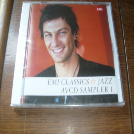 [랩핑 새것 CD] EMI Classics Jazz Avcd Sampler 1